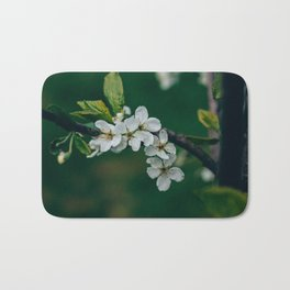 Cherry blossom in bloom Bath Mat