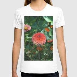 Flowers in Juicy Citrus Colors T-shirt
