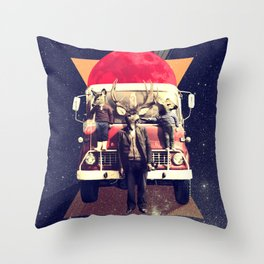 El Camion Throw Pillow