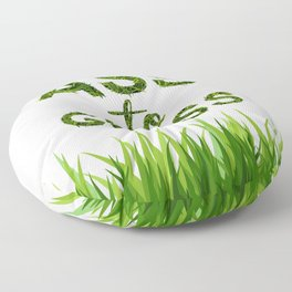 Ass to Grass Floor Pillow