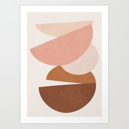 Abstract Stack II Art Print