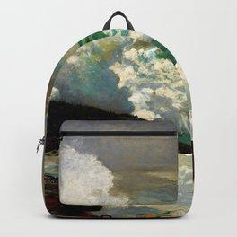 Winslow Homer1 - On A Lee Shore - Digital Remastered Edition Backpack