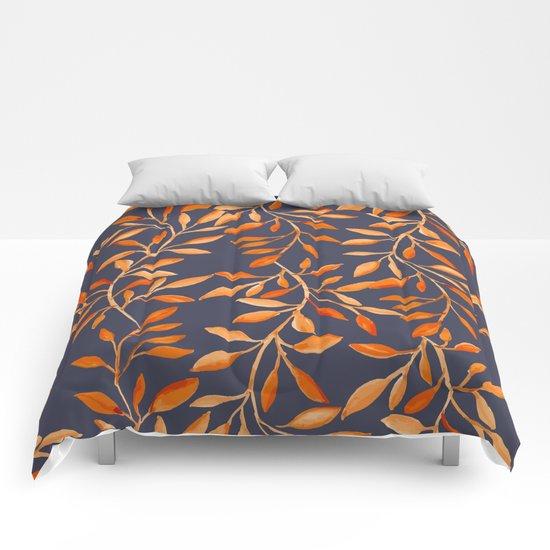 Autumn pattern Comforters