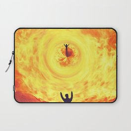 Through the Fire Laptop Sleeve