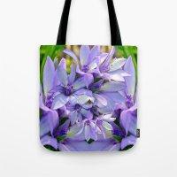 spiritual Tote Bags featuring Spiritual Bells by CrismanArt