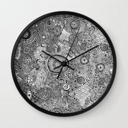 Pomegranate Tales  Wall Clock
