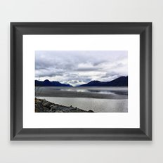 Turnagain Arm Framed Art Print