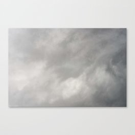 Gray Clouds Canvas Print