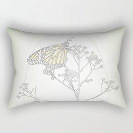 """""""Grafik 030"""" Butterfly Art by Murray Bolesta Rectangular Pillow"""