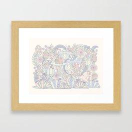 Animal Forest  Framed Art Print