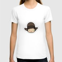indiana jones T-shirts featuring Hello Indiana Jones !! Kawaii Cuteness! by Aimee Liwag
