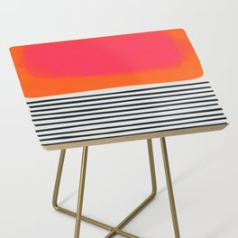 Sunset Ripples Side Table