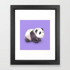 Panda. Framed Art Print