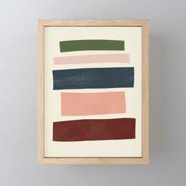 Mid-Century Modern Art # 74 Framed Mini Art Print