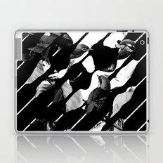 Memory Skull BW Laptop & iPad Skin