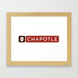 Chapotle Framed Art Print