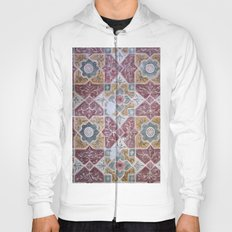Geometric Wall Pattern Hoody