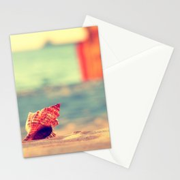 A summer at the beach Stationery Cards