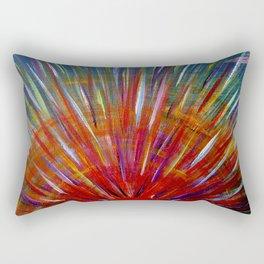 Rainbow Sun Rectangular Pillow