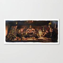 Conan the Barbarian - Crush Your Enemies Canvas Print