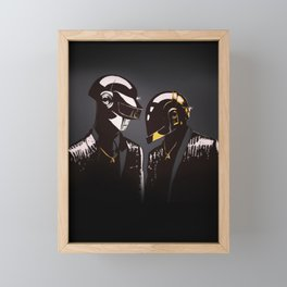 DAFT PUNK Framed Mini Art Print