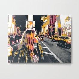 Manhattan Profile Metal Print