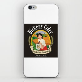 Dickens Cider - Every Girls Likes A Dickens Cider! iPhone Skin
