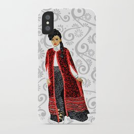 Janelle Monae iPhone Case