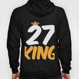 27. Birthday Present 27 Years Old Funny Gift Hoody