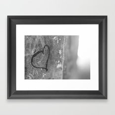 From Barcelona with Love Framed Art Print