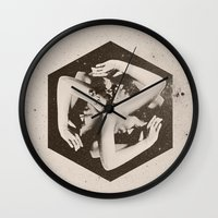 lady gaga Wall Clocks featuring BOX by Ali GULEC