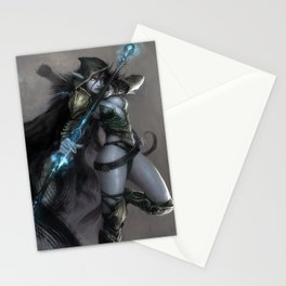 Drow Ranger Stationery Cards