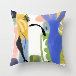 Ode to Matisse Throw Pillow