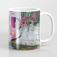 venice Mugs featuring Venice by OLHADARCHUK