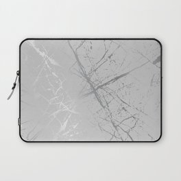 Silver Splatter 089 Laptop Sleeve