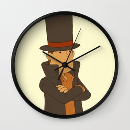 Professor Hershel Layton Wall Clock