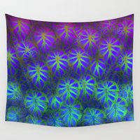 rare Wall Tapestries featuring Rare Jungle, Magic Moon by Lindel Caine