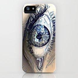 Delft Blue Eye iPhone Case