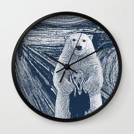 bear factor Wall Clock
