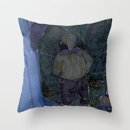 The Argument Throw Pillow