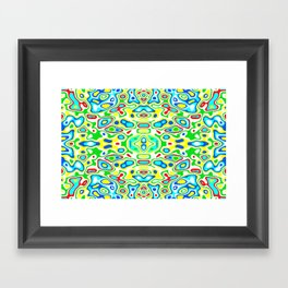 Symmetric composition 12 Framed Art Print