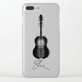 Guitar Mendes Clear iPhone Case