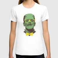 frank T-shirts featuring Mr Frank by Victor Vercesi