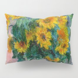 Bouquet of Sunflowers - Claude Monet Pillow Sham