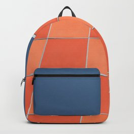 check it out ! mid century facade Backpack