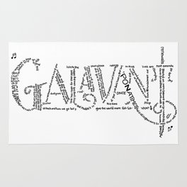 Galavant Fan Lyrics Rug