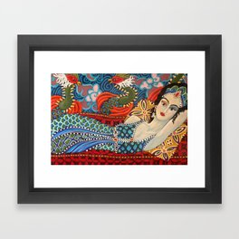 Jasmine with Phoenix Framed Art Print