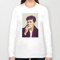 ben giles Long Sleeve T-shirts featuring Ben by Grace Teaney Art