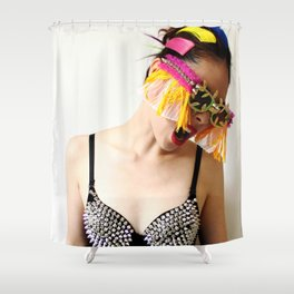 Funk the Color Shower Curtain