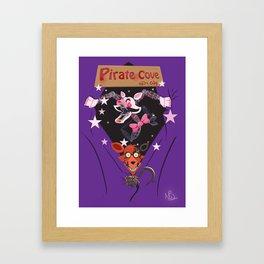 We Love Foxy and Mangle Framed Art Print